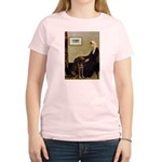 Mom's Chocolate Lab Women's Light T-Shirt