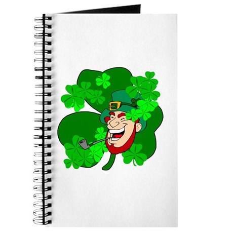 Leprechaun Shamrocks Journal
