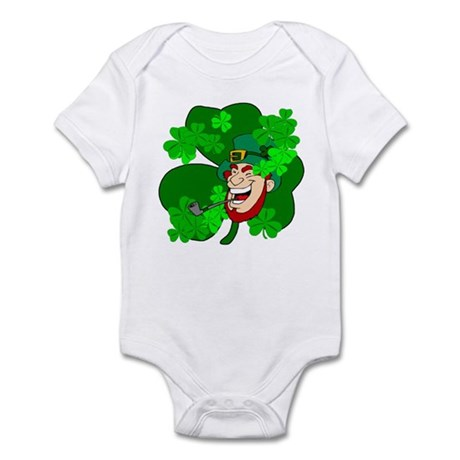 Leprechaun Shamrocks Infant Bodysuit