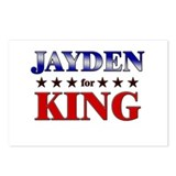 JAYDEN for king Postcards (Package of 8)