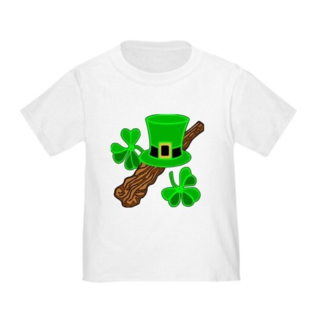 Leprechaun Hat and Shillelagh Toddler T-Shi