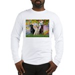 Monet's Garden & Lab Trio Long Sleeve T-Shirt
