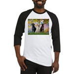Monet's Garden & Lab Trio Baseball Jersey