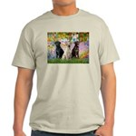 Monet's Garden & Lab Trio Light T-Shirt