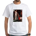The Accolade & Lab Trio White T-Shirt