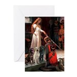 The Accolade & Lab Trio Greeting Cards (Pk of 10)