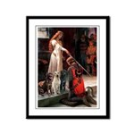 The Accolade & Lab Trio Framed Panel Print