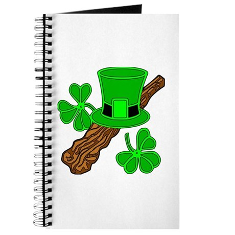 Leprechaun Hat and Shillelagh Journal