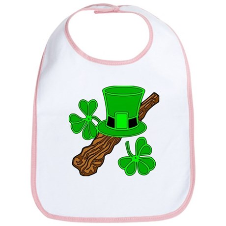 Leprechaun Hat and Shillelagh Bib