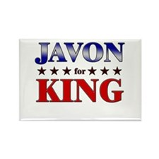 JAVON for king Rectangle Magnet