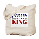 JAVION for king Tote Bag
