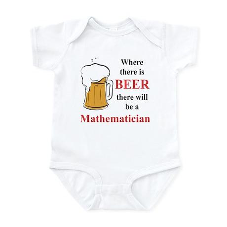 Mathematician Infant Bodysuit