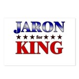 JARON for king Postcards (Package of 8)