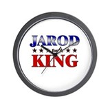 JAROD for king Wall Clock