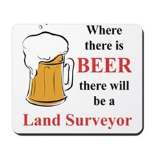 Land Surveyor Mousepad