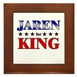 JAREN for king Framed Tile