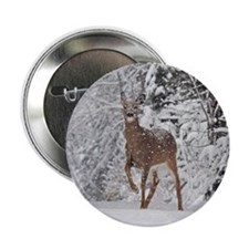 "Whitetail Doe 2.25"" Button"