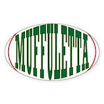 Muffuletta Oval Sticker