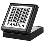 Farmer Barcode Keepsake Box