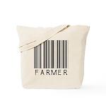 Farmer Barcode Tote Bag