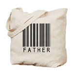 Father Barcode Tote Bag