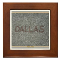 Dallas Framed Tile