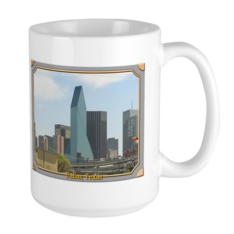 Dallas Skyline #1 Large Mug