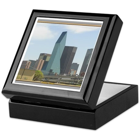 Dallas Skyline #1 Keepsake Box