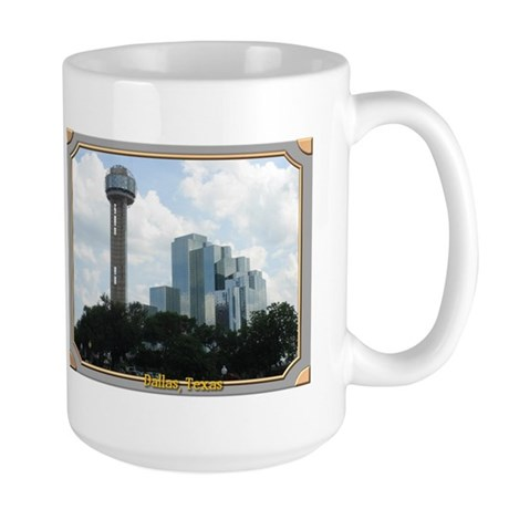 Dallas Skyline #2 Large Mug