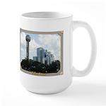 Dallas Skyline #2 Large Mug