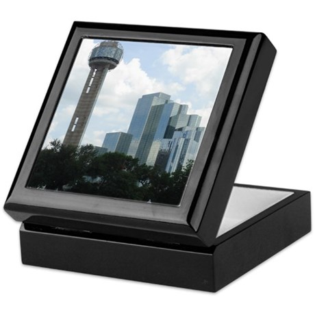 Dallas Skyline #2 Keepsake Box