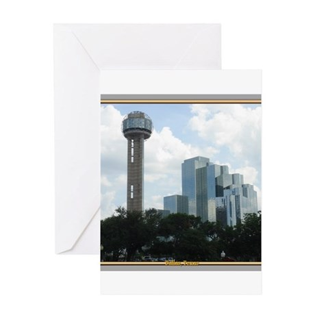 Dallas Skyline #2 Greeting Card