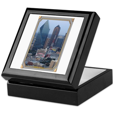 Dallas Skyline #3 Keepsake Box