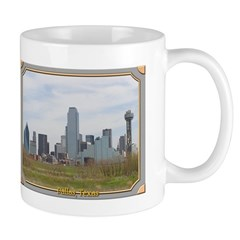 Dallas Skyline #4 Mug