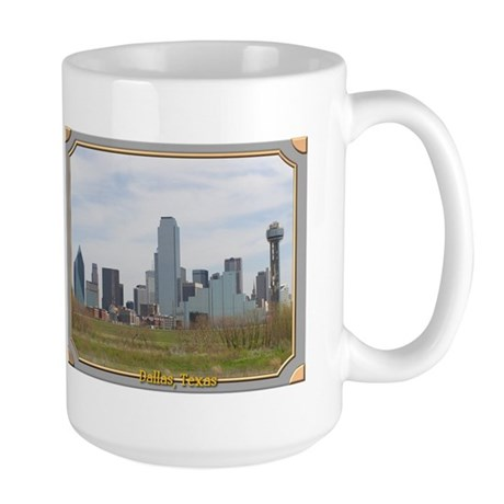 Dallas Skyline #4 Large Mug