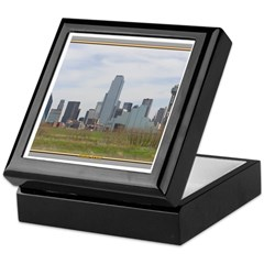 Dallas Skyline #4 Keepsake Box