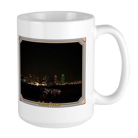 Dallas Skyline #5 Large Mug