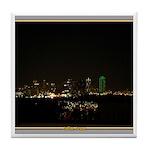 Dallas Skyline #5 Tile Coaster