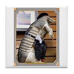 Dallas Armadillo Tile Coaster