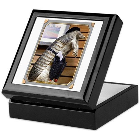 Dallas Armadillo Keepsake Box