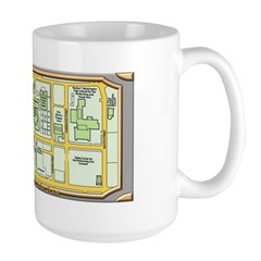 The Arts District Large Mug