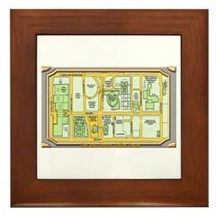 The Arts District Framed Tile