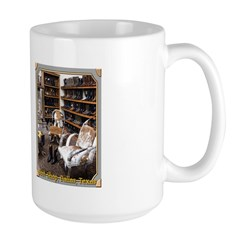 Boot Shop Large Mug