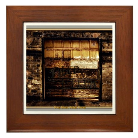 Deep Ellum #1 Framed Tile