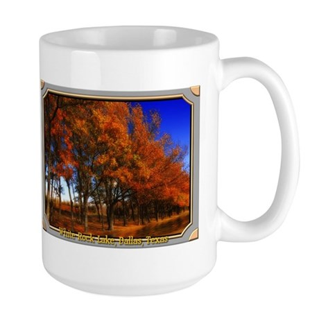 White Rock Lake Large Mug