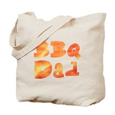 BBQ Dad Barbecue Father's Day Tote Bag