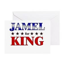 JAMEL for king Greeting Cards (Pk of 20)