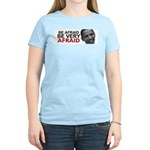 Be Afraid of Obama Women's Light T-Shirt