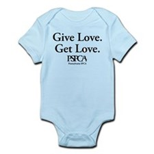 """Give Love. Get Love."" Infant Bodysuit"