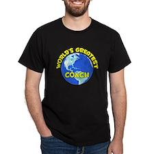 World's Greatest Coach (D) T-Shirt